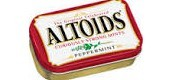 They were originally made of cardboard cartons until the 1920s. They are now made from pure tin. The packaging includes wax paper lined on the inside to keep the mints fresh. The altoids originated in London by the Smith & Company confectionery firm. Tin is extracted from various ores, chiefly from Cassiterite (SnO2). The metal is produced from reducing the oxide ore with coal in a reverbatory furnace.Tin is primarily used to solder electric circuits as an alloy with lead.