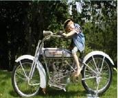 GELOMAN American Race Motorcycle