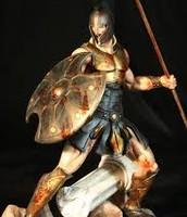 Achilles at battle