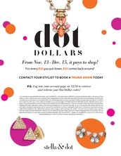 Dot Dollars are back...earn yours today!
