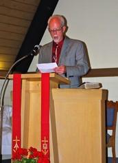 A special time to show our heartfelt appreciation to Pastor Kurt!