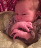 Sweet baby Micah!