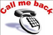 Return call or SMS