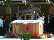 Secretariat Monument At Race He Set Record At