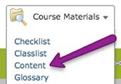 Content = Textbook