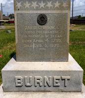 David G.Burnet's grave