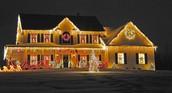 Christmas Lights outside the Home: