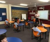 Rabbi Moriah and the Yr 1 & 2 class