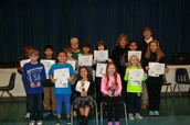All of our Spelling Bee Contestants and Judges!