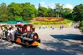 西湖渡假村-花園小火車