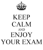 good luck on your exams!