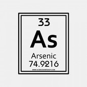 Arsenic in Periodic Table of Elements