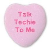 We both speak tech