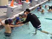2nd grade swimmers