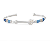 Arrow Voyager Cuff, Silver - $18