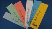 Shelf Challenge Bookmarks