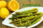 Green Asparagus with Citrus