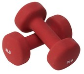 Remember to bring your hand weights to every class!