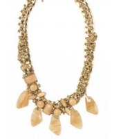 Jacqueline Quartz Stone Necklace