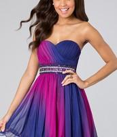 El vestido rosa y morano