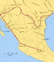 Cabeza's journey