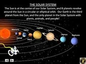 What objects in our solar system have an orbit?