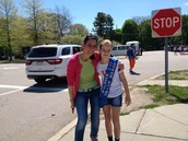 Grand Marshal-- 4th Grader, Susie M.
