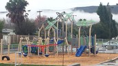 Our amazing new TK/Kindergarten play structure!