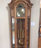 Grandfather clock-built by my great grandfather