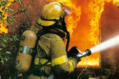 A Fireman in Uniform