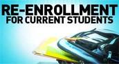 2016 - 2017 RE-ENROLLMENT FORMS