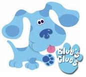 Cuando yo era joven veía Blue's Clues.