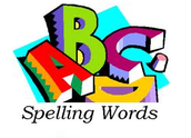 Weekly Spelling Words