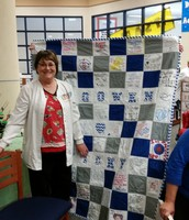 Nurse Vicky retires this year!