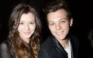 Louis with girlfriend Eleanor Calder
