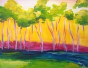 Colorful Trees - $25 Special!