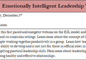Emotionally Intelligent Leadership Webinar