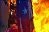 Burning of the Flag