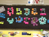 4th Biography learning board!