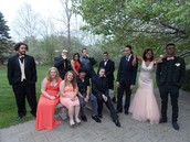 Students had lots of fun hanging out!