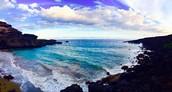 Where Mahona Bay Meets The Land