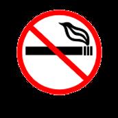 Do not smoke near food preperation area.