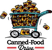 Canned Food Drive through November 17