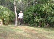 Woods Running Exercise