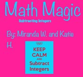 Math Magic: Subtracting Integers
