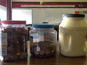 We filled 4 big jars full.