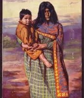 mohave indian mother