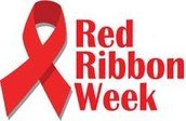 Red Ribbon Week is Coming on October 26th through October 30th