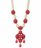 Sardinia Necklace-Red