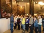 Посещение музея ВОВ, г.Мнск